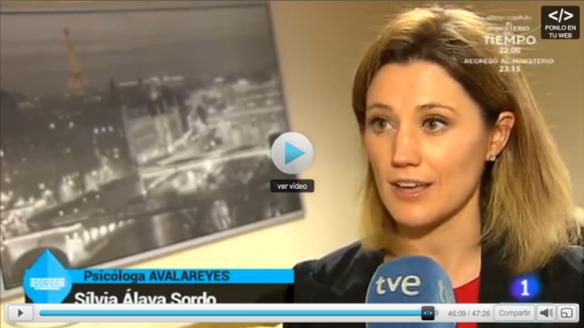 Silvia Álava - España Directo TVE 130415 - Día internacional del beso
